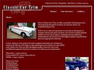Classic Car Trim - North Walsham