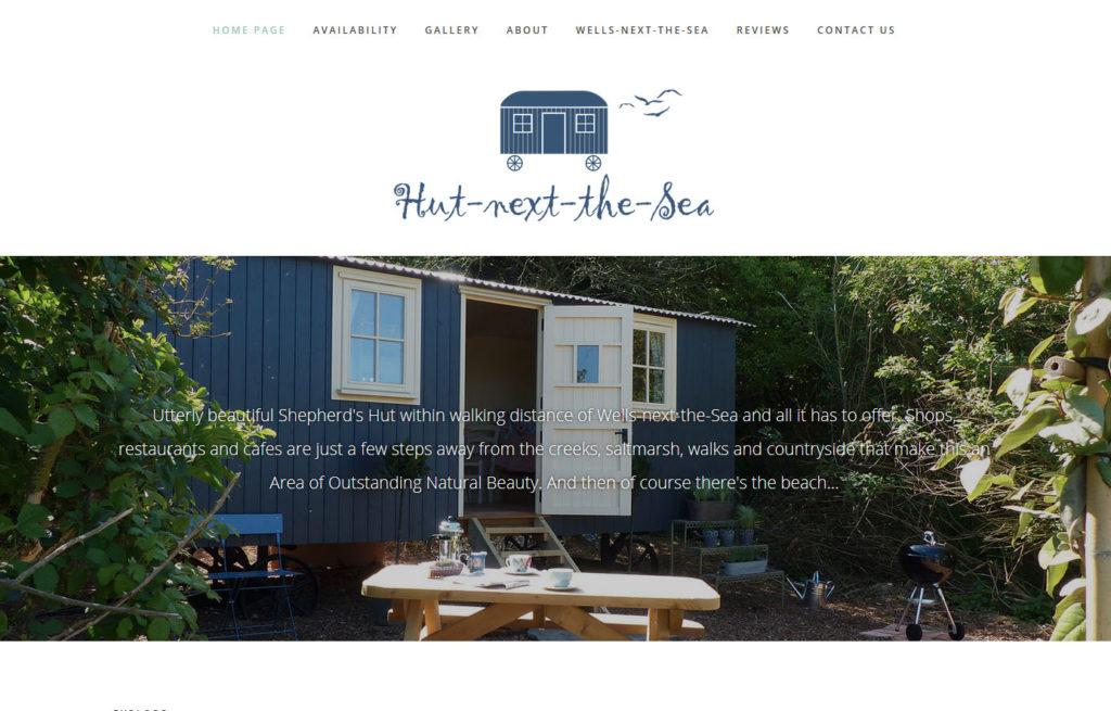 Hut next the sea - Wells - https://www.hutnextthesea.co.uk