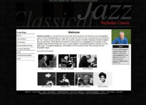 Nicholas Unwin Jazz Musician