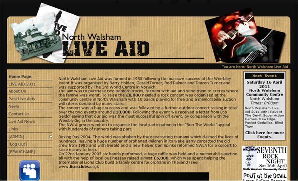 North Walsham Live Aid