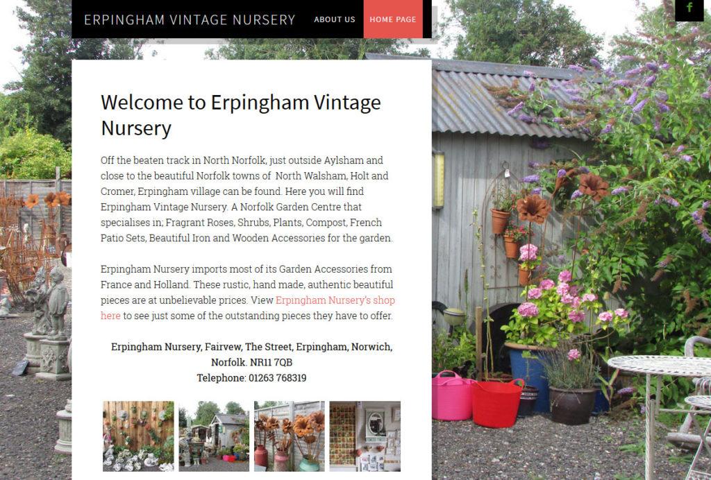 Erpingham Vintage Nursery, Norfolk.