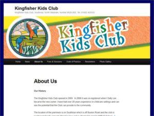 Kingfisher Kids Club, North Walsham.