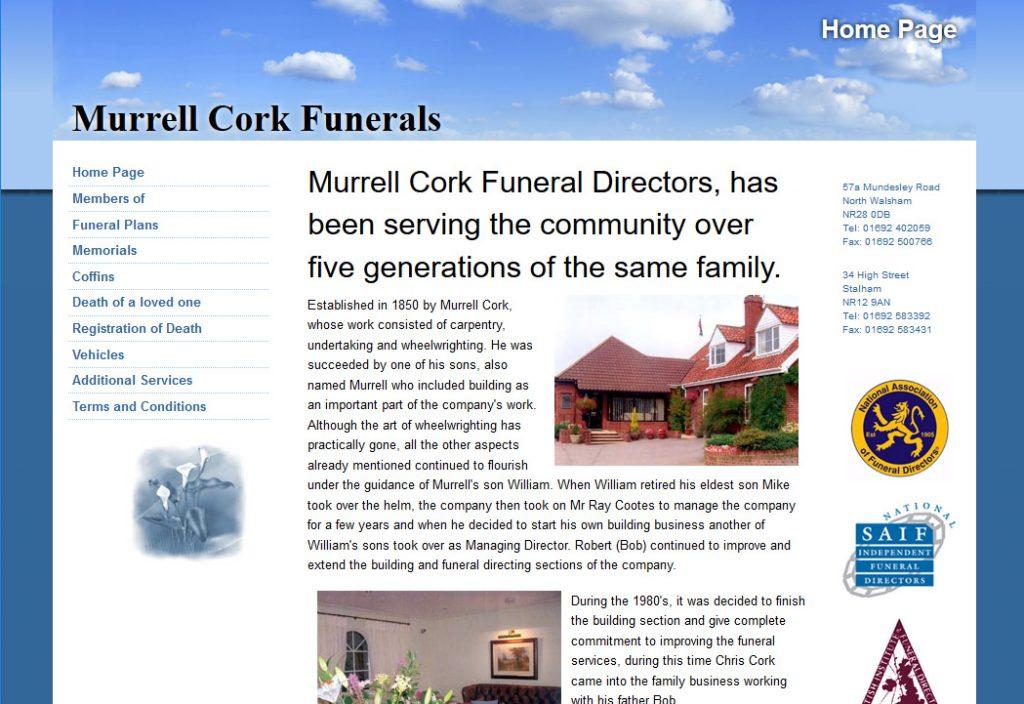 Murrell Cork Funerals, North Walsham