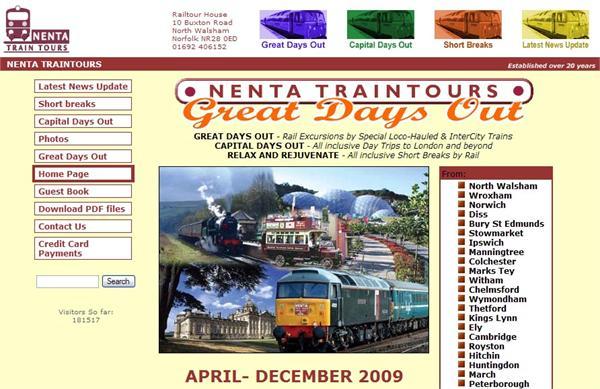 Nenta Traintours, North Walsham