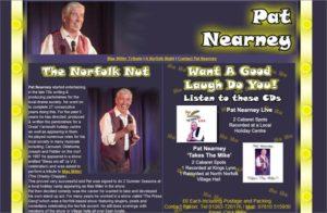 Pat Nearney - Norfolk Entertainer.