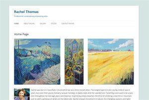 Rachel Thomas - aProfessional, contemporary oil painting artist.