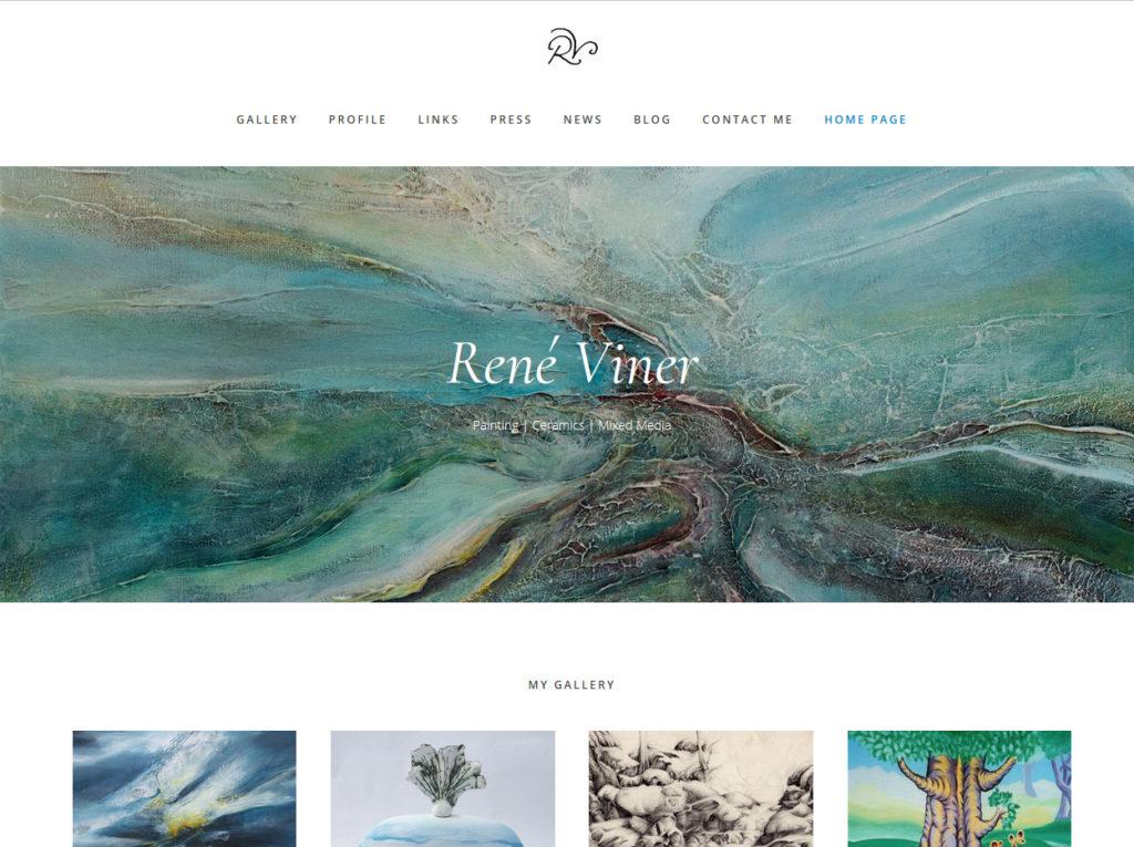 Rene Viner - Mixed media Artist
