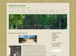 Richardsons Sawmill Edingthorpe