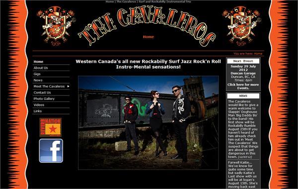 The Cavaleros - all instrumental Rockabilly, Surf, Swing and Rock n Roll