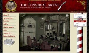 Tonsorial Artist - The Original Barbershop Experience