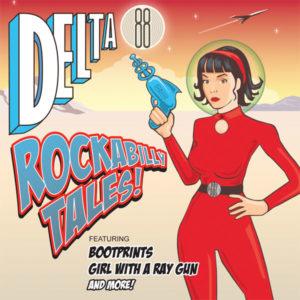 "WSRC EP12 - Delta 88 ""Rockabilly Tales!"" 7"" vinyl EP"