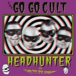"""WSRC MLP03 - The Go Go Cult """"headhunter"""" 10"""" coloured vinyl LP"""