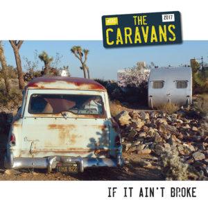 """WSRC MLP13 - The Caravans """"If it ain't broke"""" 10"""" coloured vinyl LP"""
