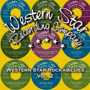 "WSRC011 - ""Western Star Rockabillies Vol.2"" compilation CD album"