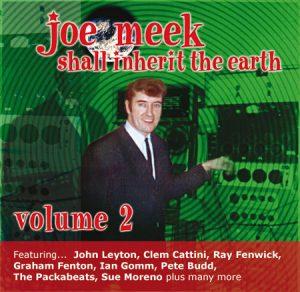 "WSRC014 - ""Joe Meek shall inherit the earth 2"" compilation CD album"