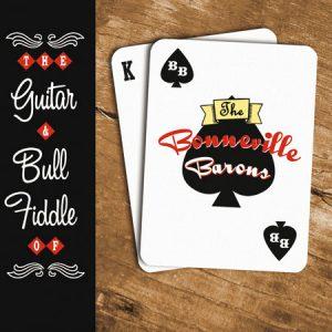 "WSRC015 - The Bonneville Barons ""The Guitar & Bull Fiddle of..."" CD album"