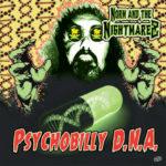 "WSRC107 - Norm & The Nightmarez ""Psychobilly DNA"" CD album"