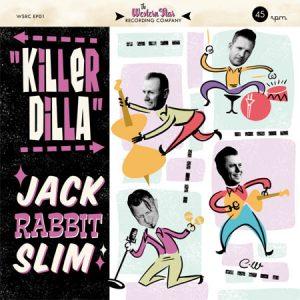 "WSRCEP01 - Jack Rabbit Slim ""Killer Dilla"" vinyl EP"