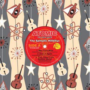 "WSRC MLP07 - Epileptic Hillbillys ""Atomic"" 10"" coloured vinyl LP"