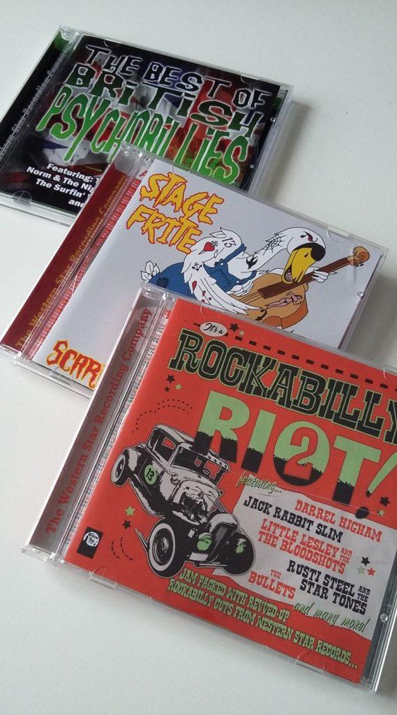 Rockabilly and Psychobilly CDs