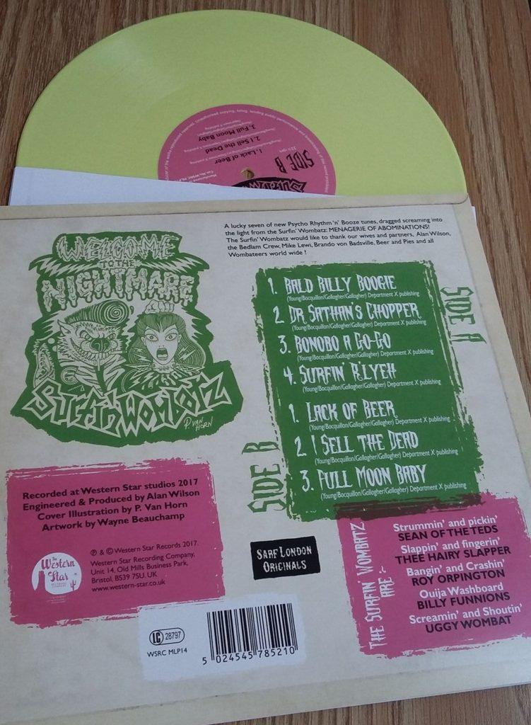 Surfin Wombatz Vinyl album