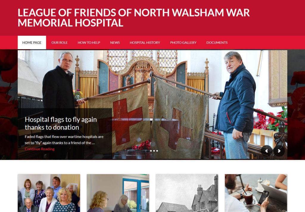 North Walsham Hospital Friends website