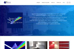 Spectrum Decorating Services Screen