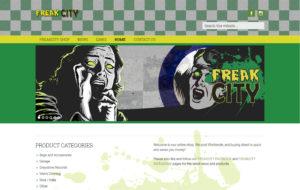 Freak City Music website