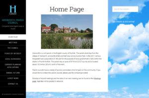 Hanworth Parish Council website