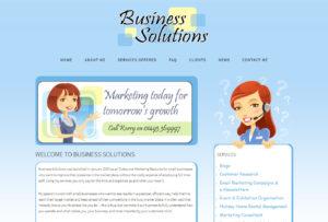 Norfolk Business Solutions website