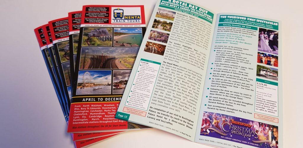 Nenta Traintours colour brochure 2019