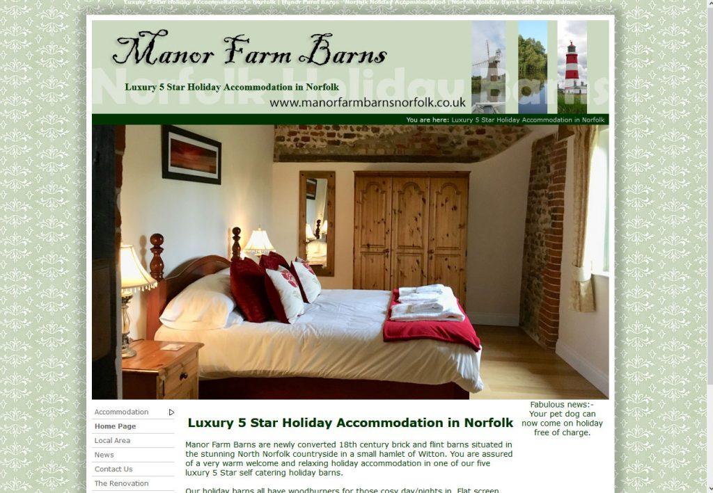 Manor Farm Barns Witton Norfolk