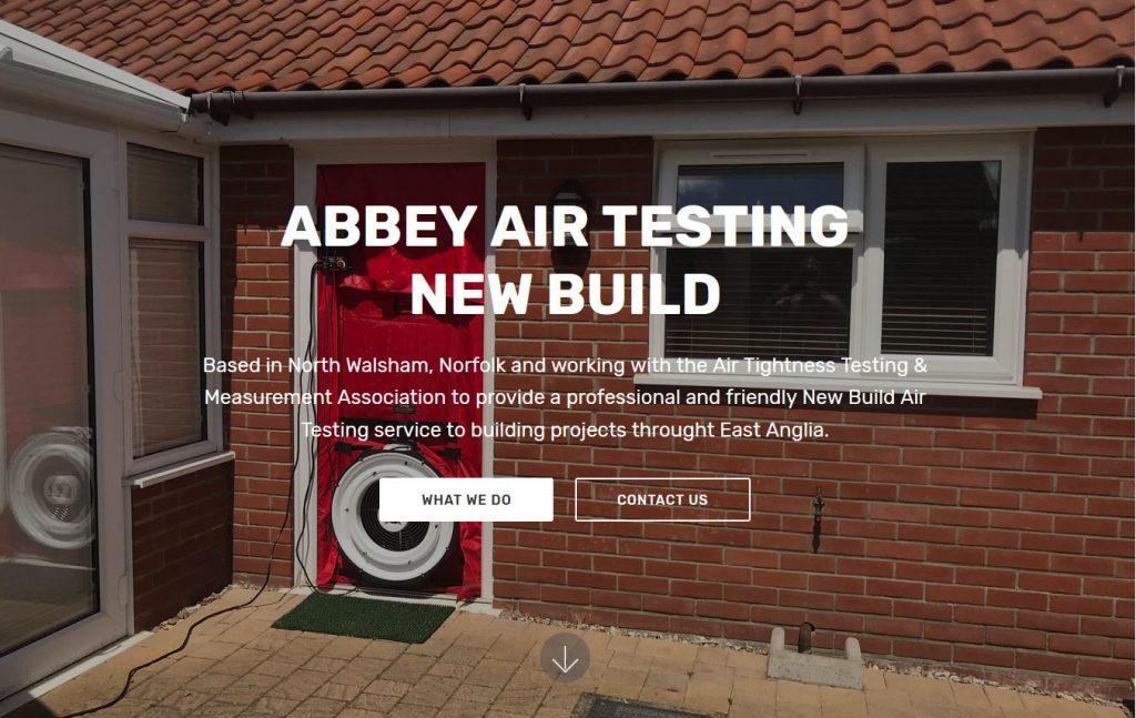 Abbey air testing