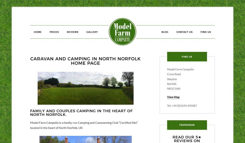 Model Farm Camping and Caravan